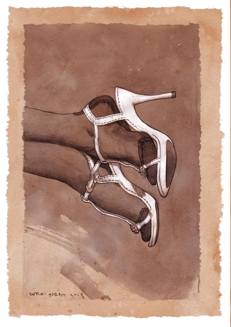 White shoes - footfetish, nylonfetish - sergiobleda | ello
