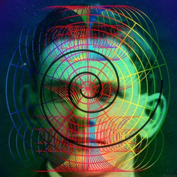 Caged (2017). Digital collage E - retrocollage | ello