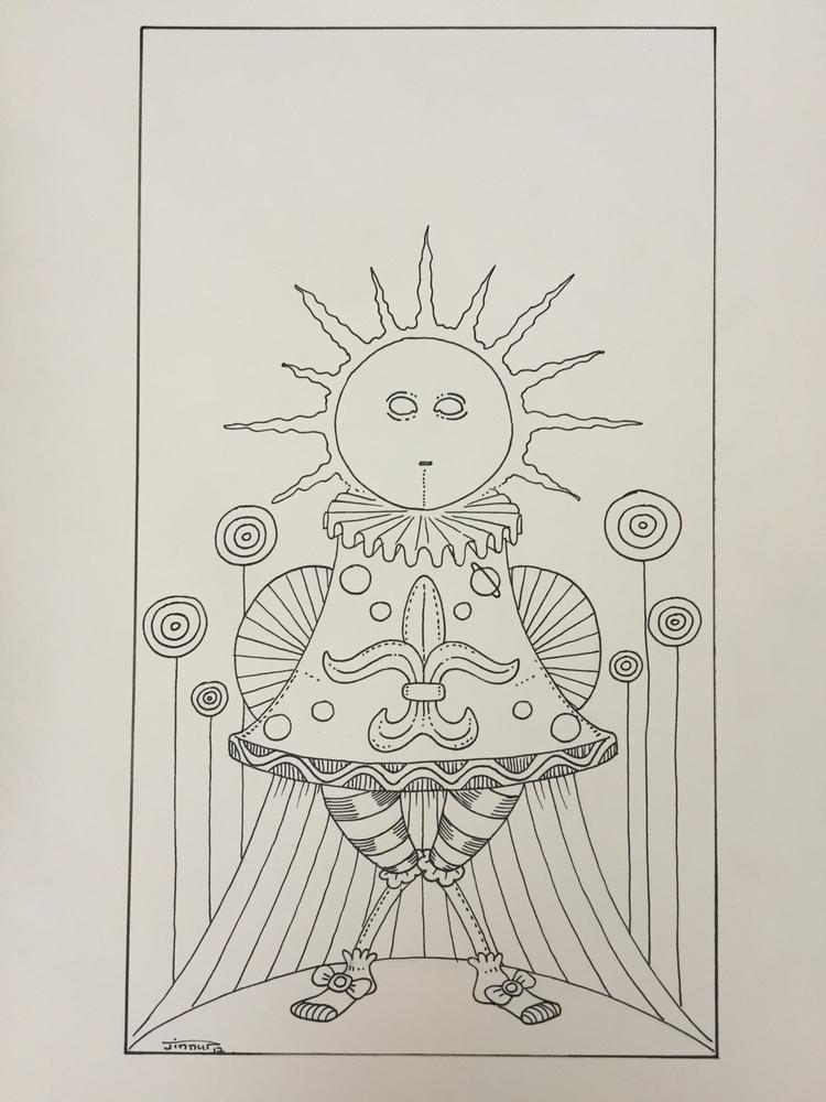 XVIIII - le soleil / sun :sunny - jimmy-draws | ello