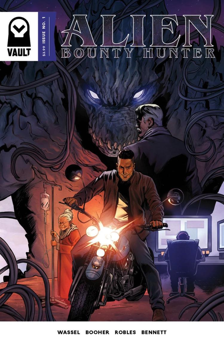 Alien Bounty Hunter Review Wors - comicbuzz   ello