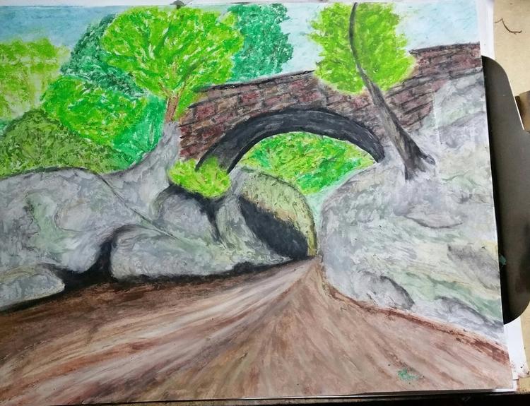 Bridge, South Carolina. Oil pas - totallytwistedfickity | ello