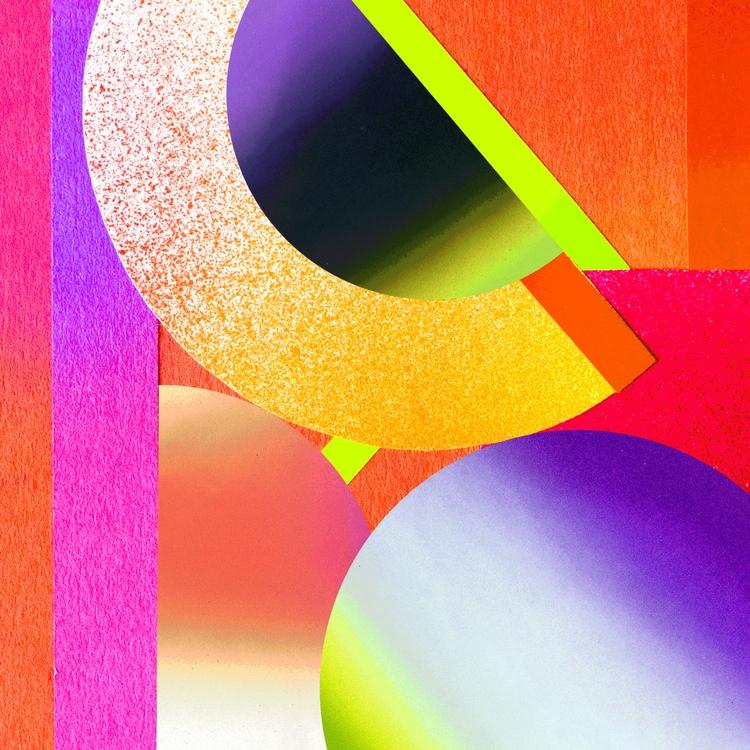 VIBRANT - geometry, geometry, shapes - shutupstudio | ello