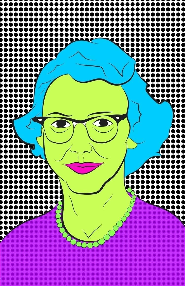 Highlighter Writer - Flannery - illustration - hafler | ello