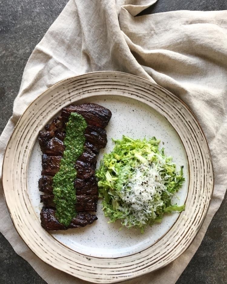 Skirt Steak + Chimichurri Friss - masappetit | ello