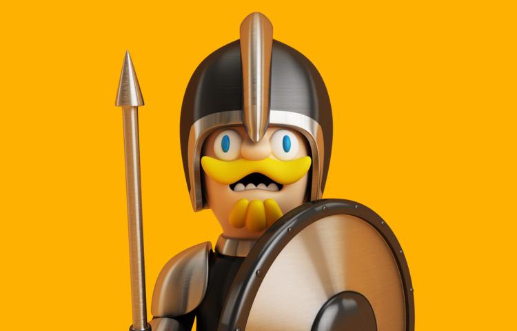 Knight. Follow  - knight, warrior - oscarasecas | ello
