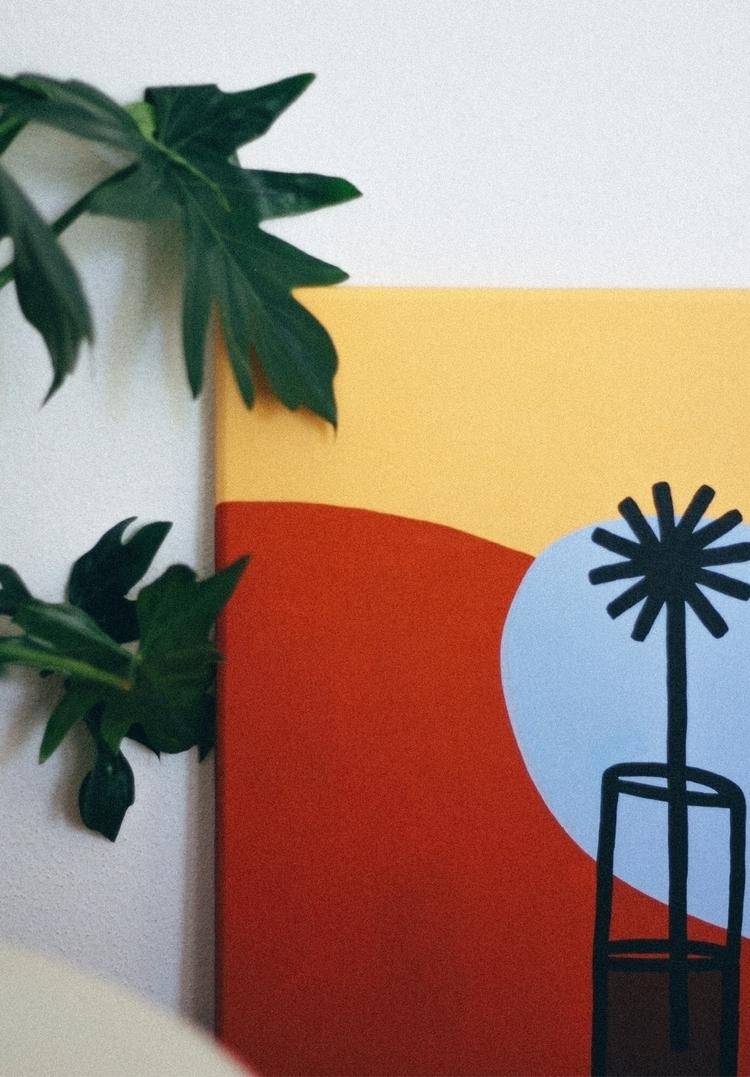Bolder | Acrylic canvas, 50*60  - loandlou | ello