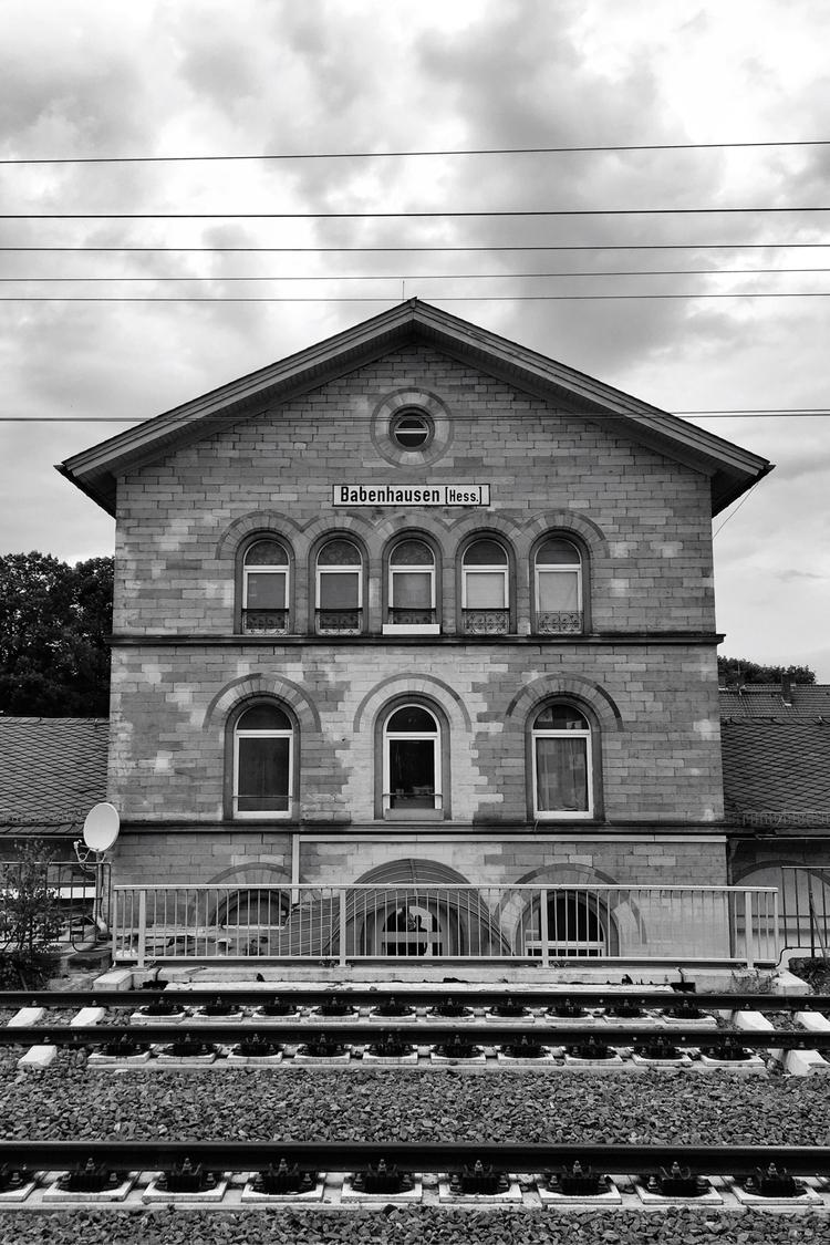 Umsteigen - Babenhausen, Bahnhof - rowiro | ello