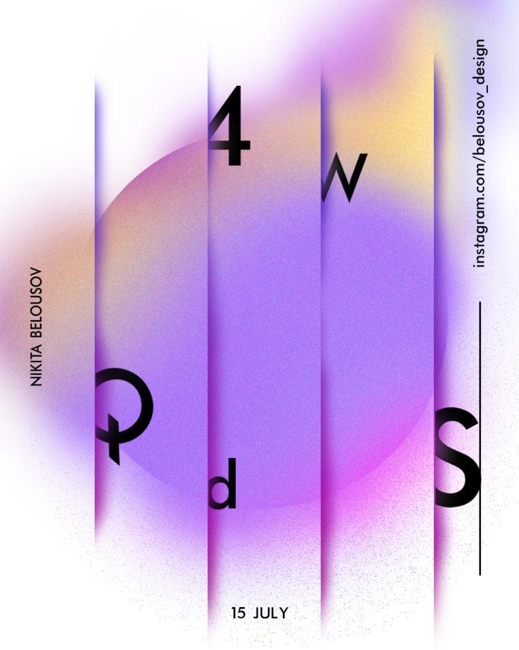 art, design, poster - belousov_nikita | ello