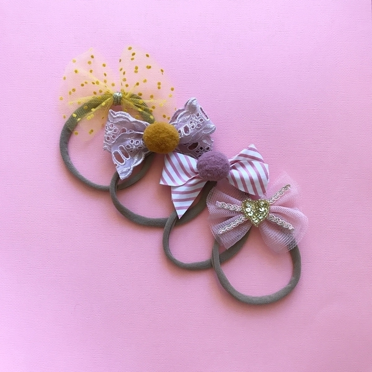 headbands gold clips - fleurfolly | ello