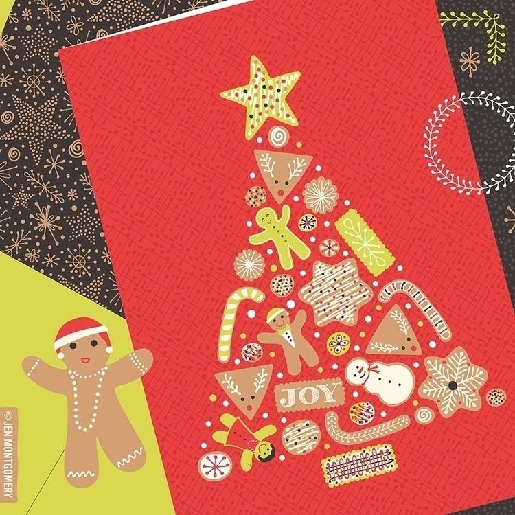Christmas July! Paper assignmen - jenmontgomery | ello