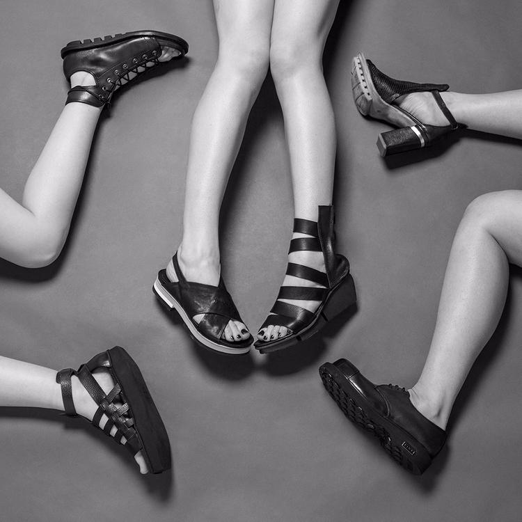 Leather shoes sandals SS17 coll - corazzaspace | ello