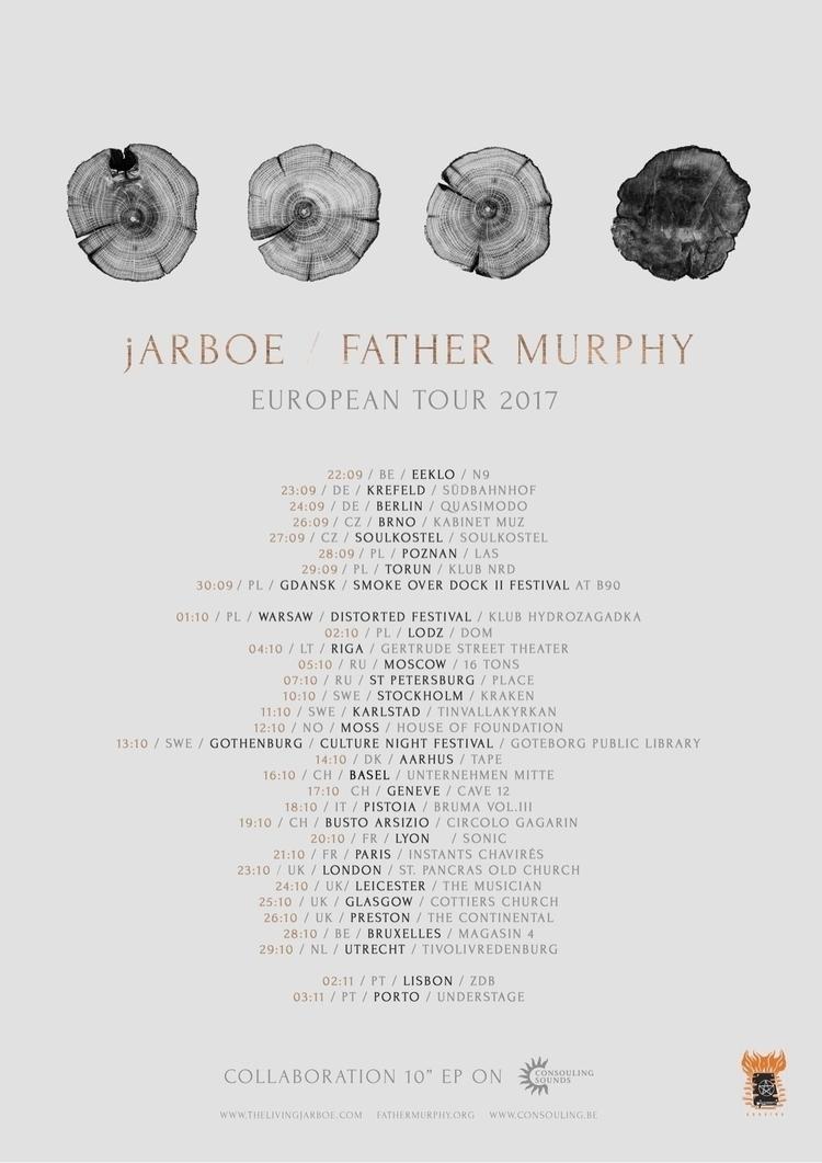 tour poster - jarboe | ello