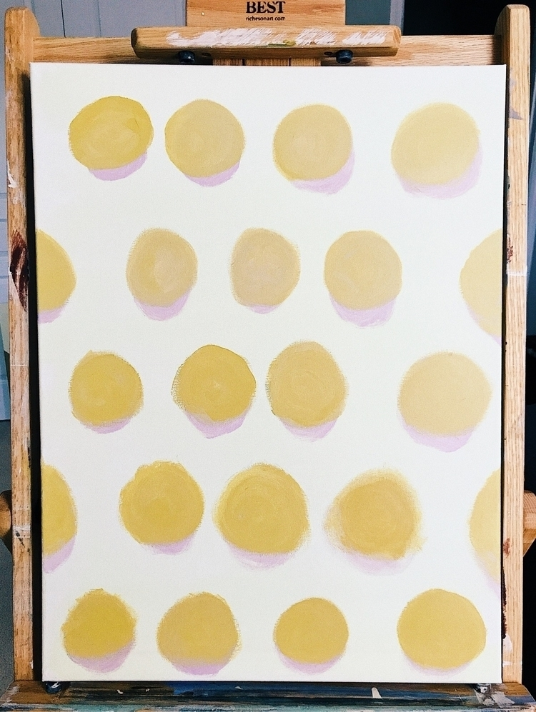painting. circles,  - art, paint - harveydustin | ello
