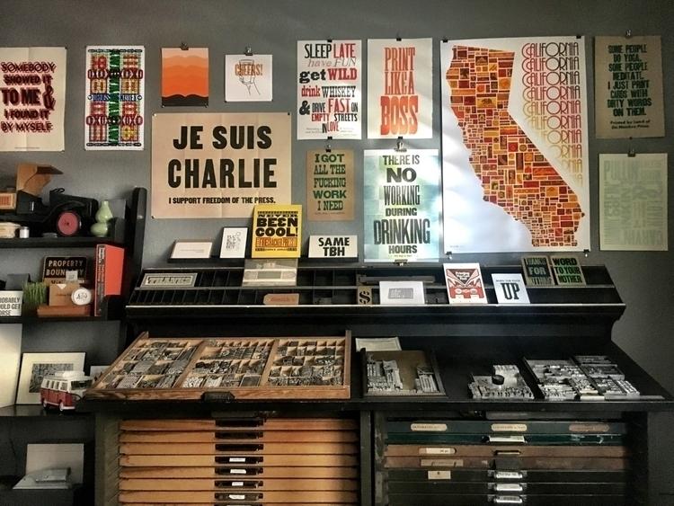 workshop | - California, letterpress - sheasmith | ello