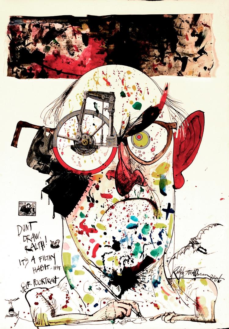 Ralph Steadman Draw Ralph! filt - thechambersproject | ello