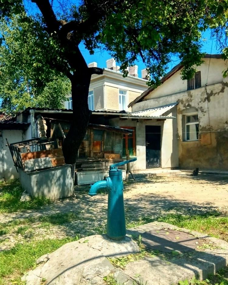 crimea, urbanfoto, blue, pumphouse - kormin | ello