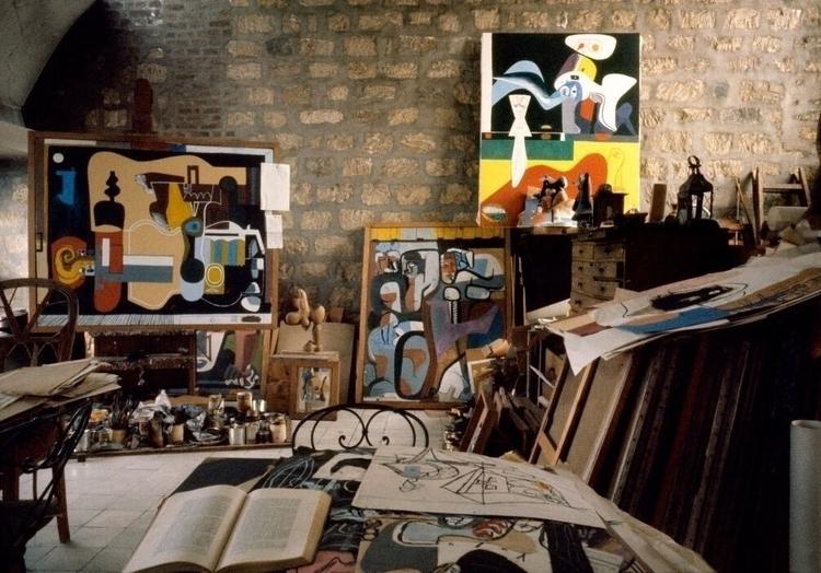 Le 1959, René Burri - Studio, Corbusier - bauhaus-movement | ello