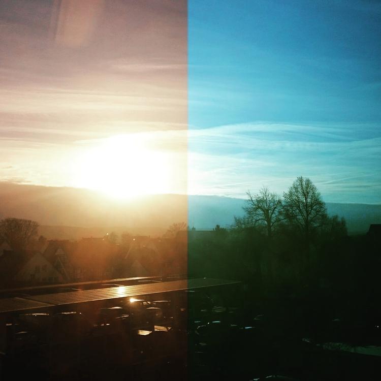 Sichtweisen - urban, roof, morning - blueeye   ello
