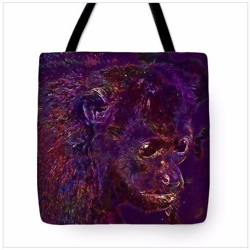 Howler Monkey Animal Tote Bag P - pixbreak | ello