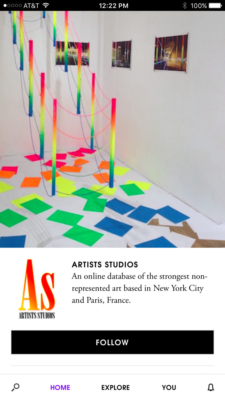 Download Artsy app iTunes follo - as_studios | ello