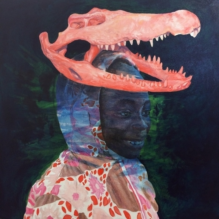 Bois sacré 80x80cm - painting, art - sebastienbouchard | ello