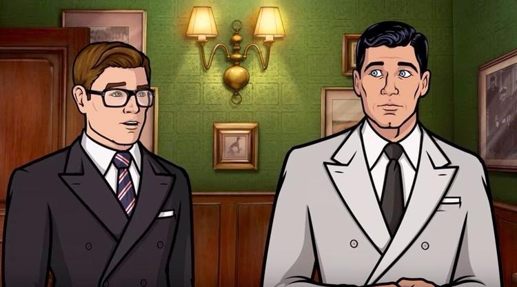 Archer meets Kingsman hilarious - bonniegrrl | ello