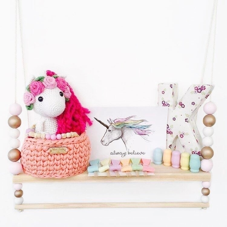 adorable shelf unicorns pastels - kaebee_designs | ello