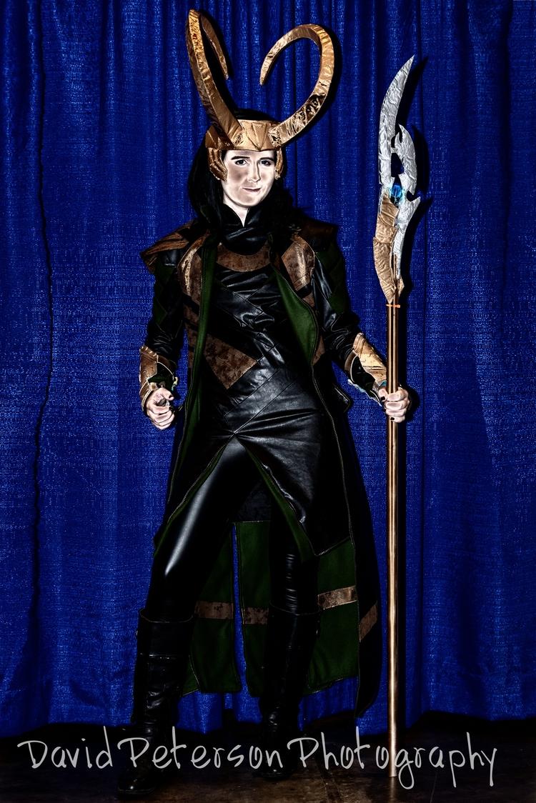 Loki - Loki,, comic,, supercon, - davidapeterson   ello