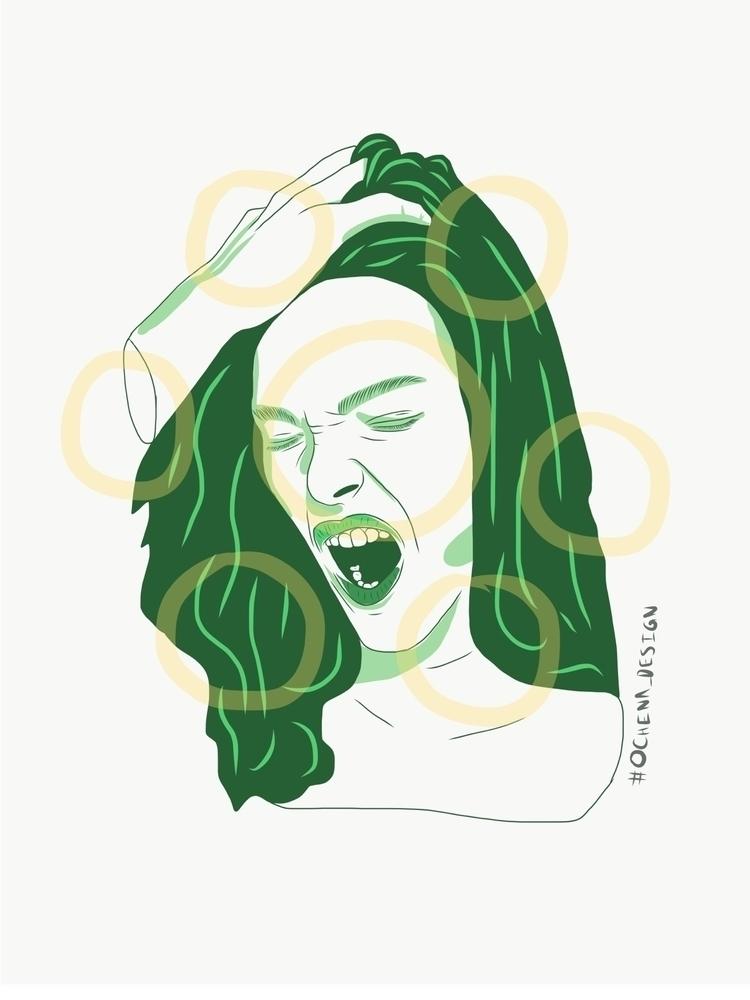 screams - art project - ochena_design - ochena_design | ello