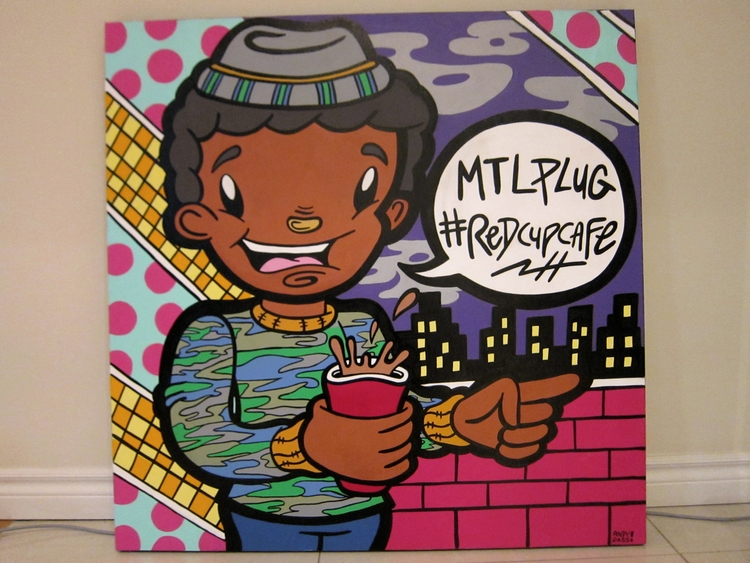 Montreal Plug 36 36' acrylic in - andydass   ello