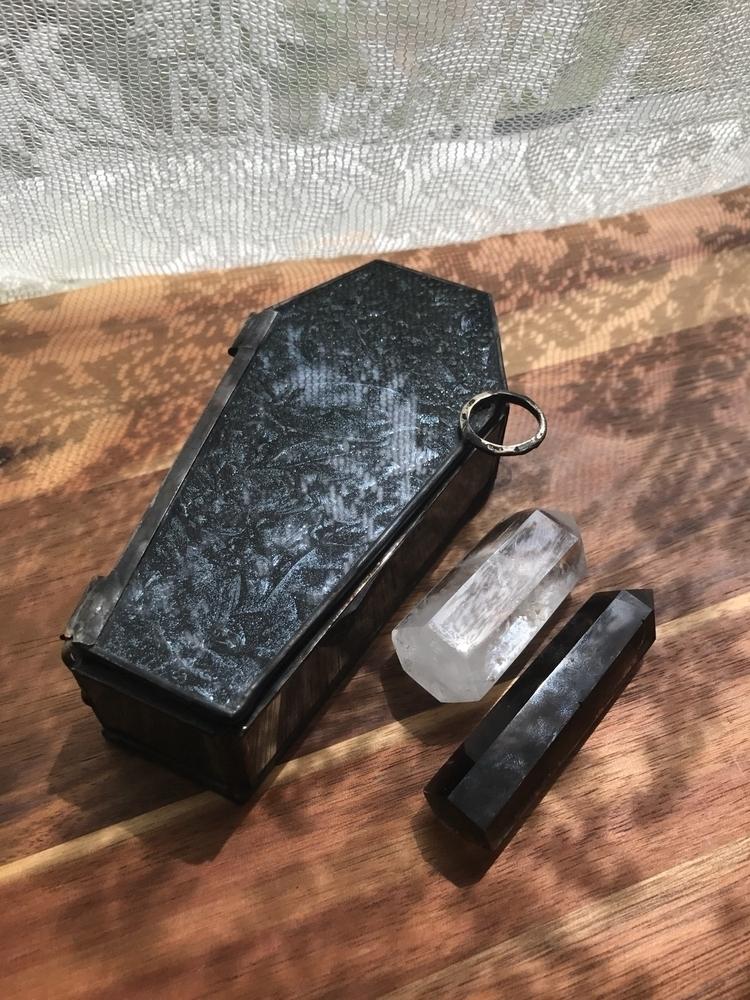 Black Sparkle Van Gogh Glass Co - wickedstainedglass | ello