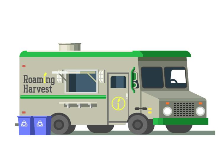 Roaming Harvest Food Truck (158 - darumacreative | ello