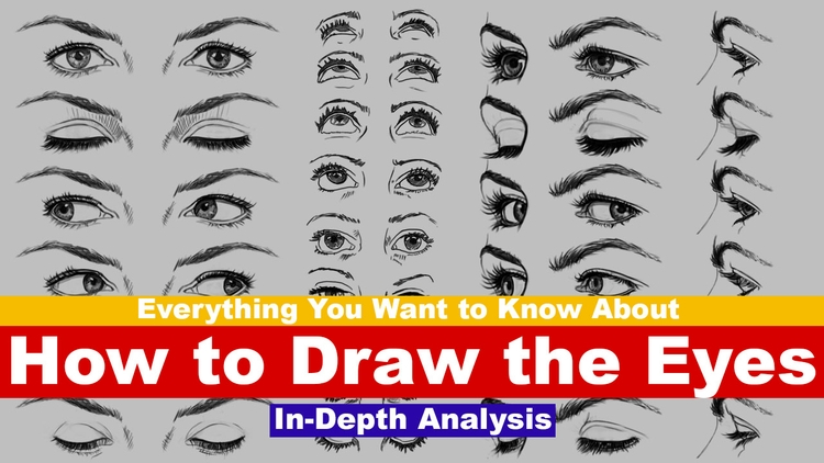 Draw Eyes Tutorial Index 1:00 P - rain_walker | ello