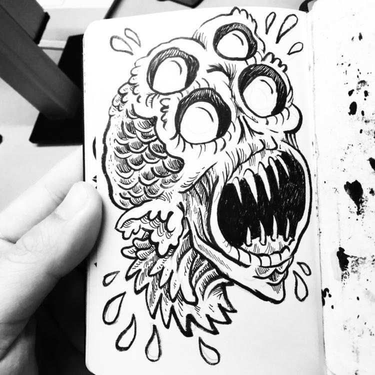 Happy fucking Friday! drawn lif - royallyeric   ello