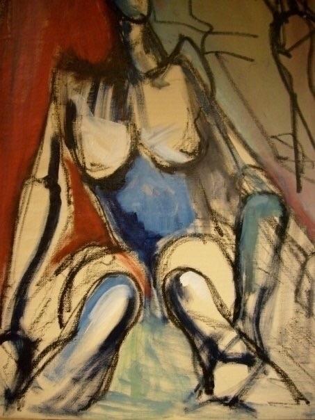 Oil canvas 100x70, Love - jazzarts - jazzarts | ello