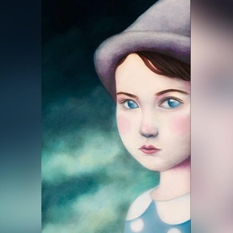 Closeup WIP upcoming [Pinocchio - carolinaseth | ello