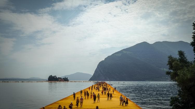 Floating Piers, Christo Jean-Cl - markcareaga   ello