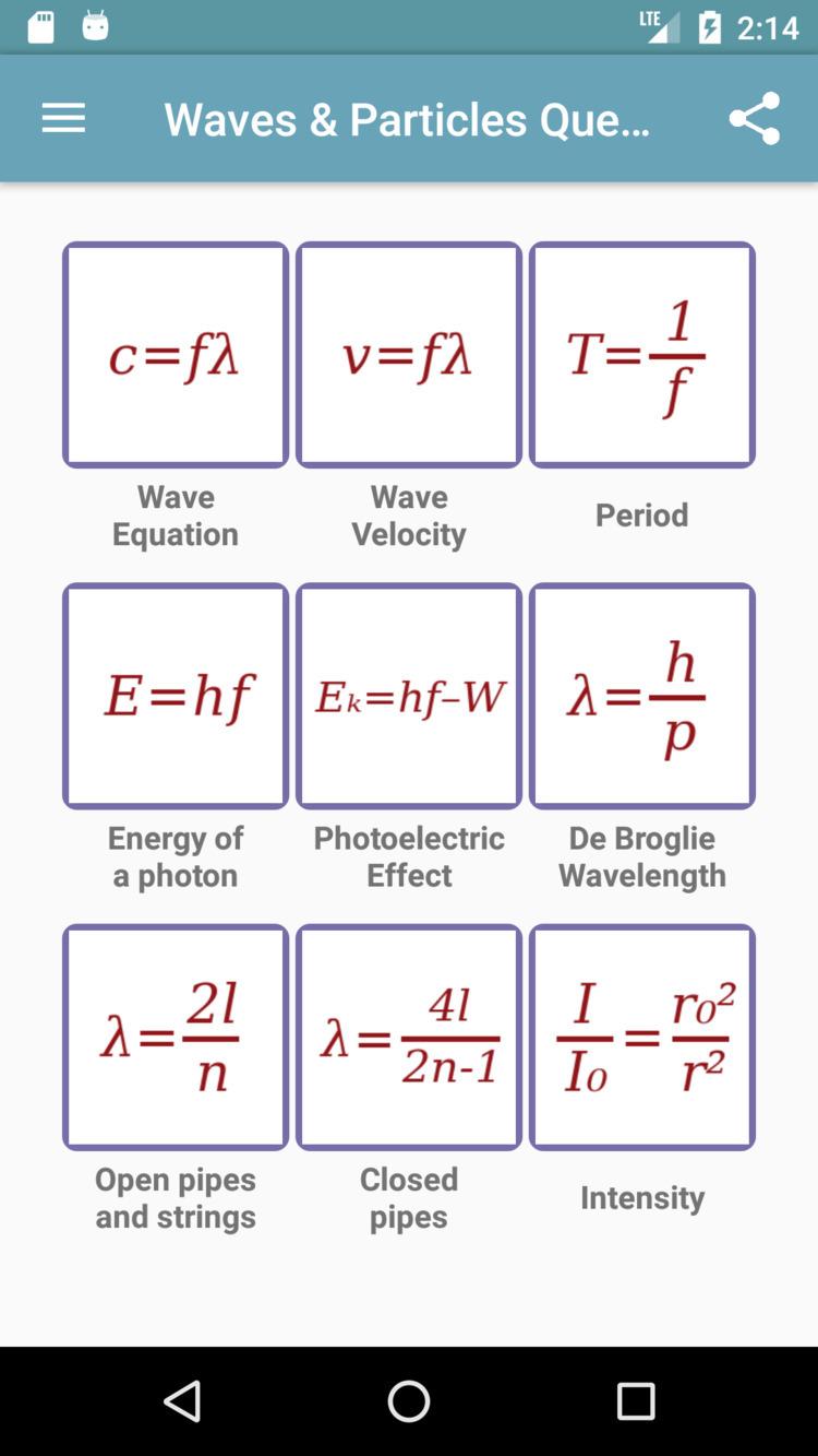 Waves Particles Questions app i - drmichaeltodd   ello