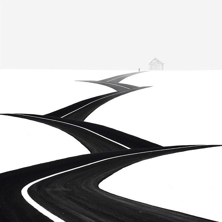 Minimalist piece Steps Hossein  - minimalismlife | ello