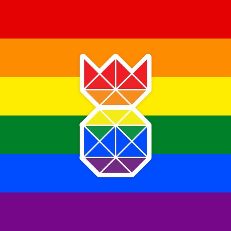 lot fun support celebrate Pride - pineapples_io | ello