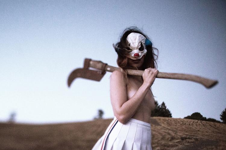 """Coulrophobia"" — Photographer/R - darkbeautymag | ello"