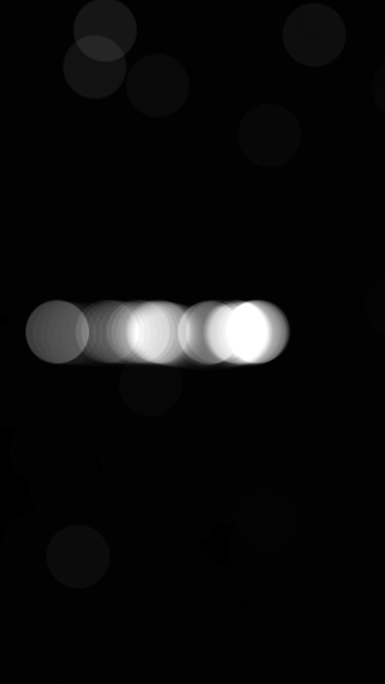 Interactive circles screen capt - vrenolds | ello