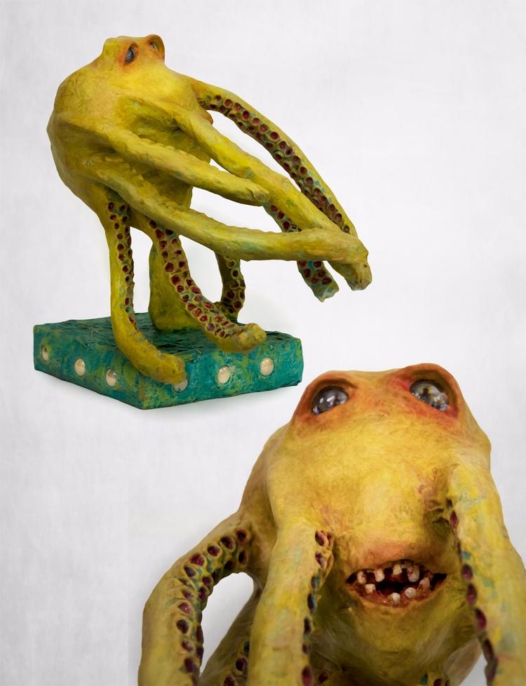 Auberon - masking tape sculpted - ocasiocasa | ello