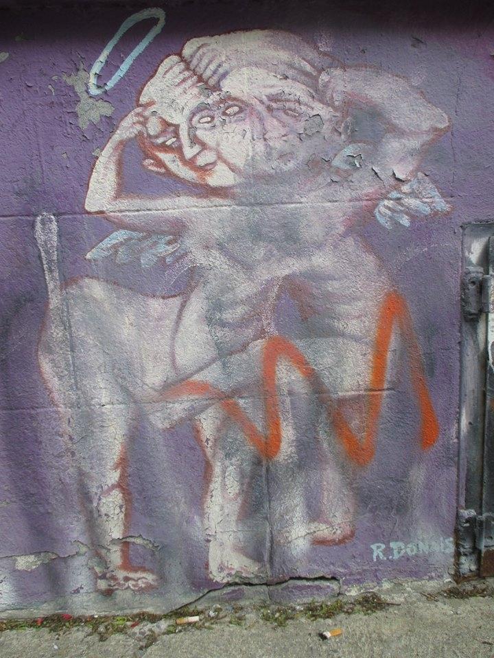 Street art Montreal - front vie - renedo | ello
