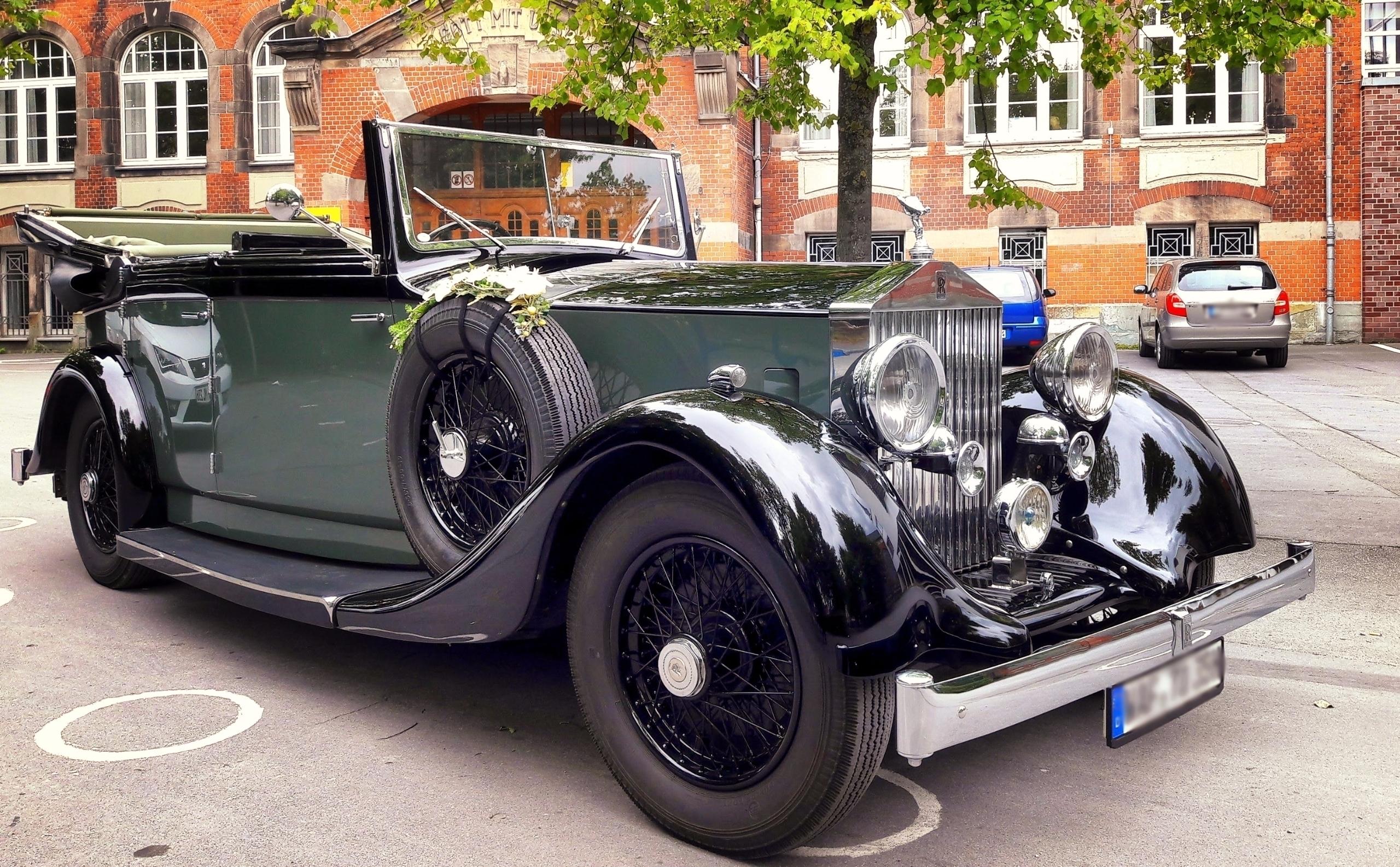Oldtimer Rolls Royce 20/25 Bark - klausheeskens | ello