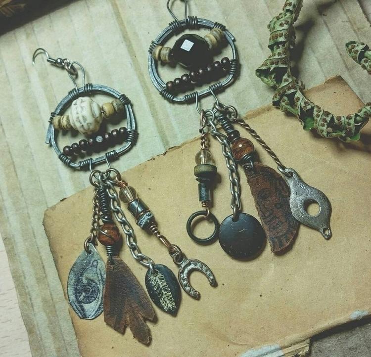 earrings, hermit, shopsmall, earringsogood - kalabruixa   ello
