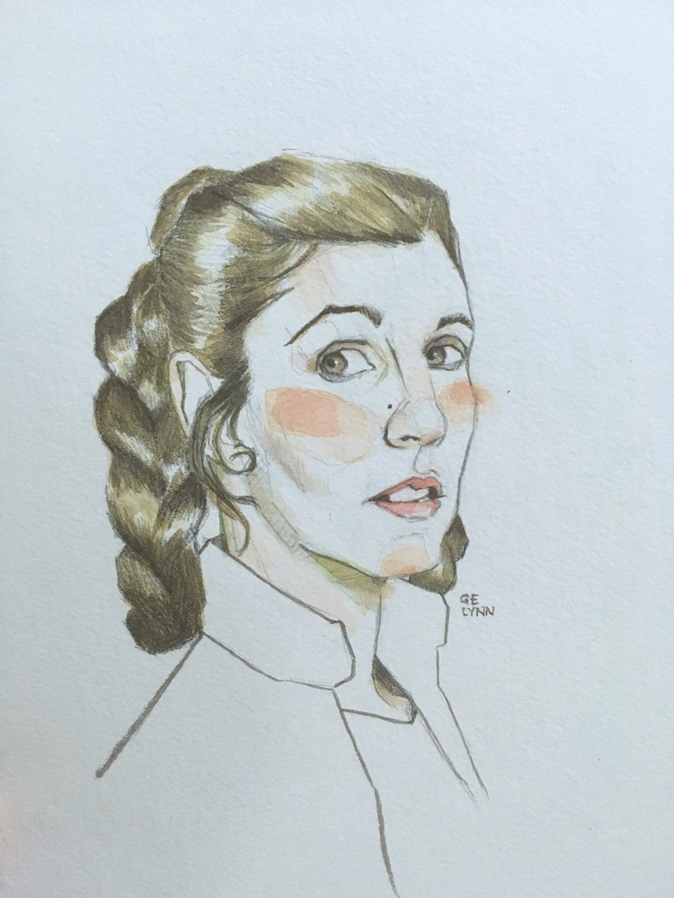 , Carrie Fischer - princessleia - summergurl | ello