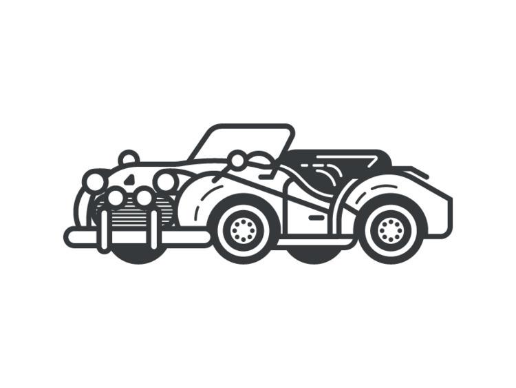 Triumph TR3 (162/365 - darumacreative | ello