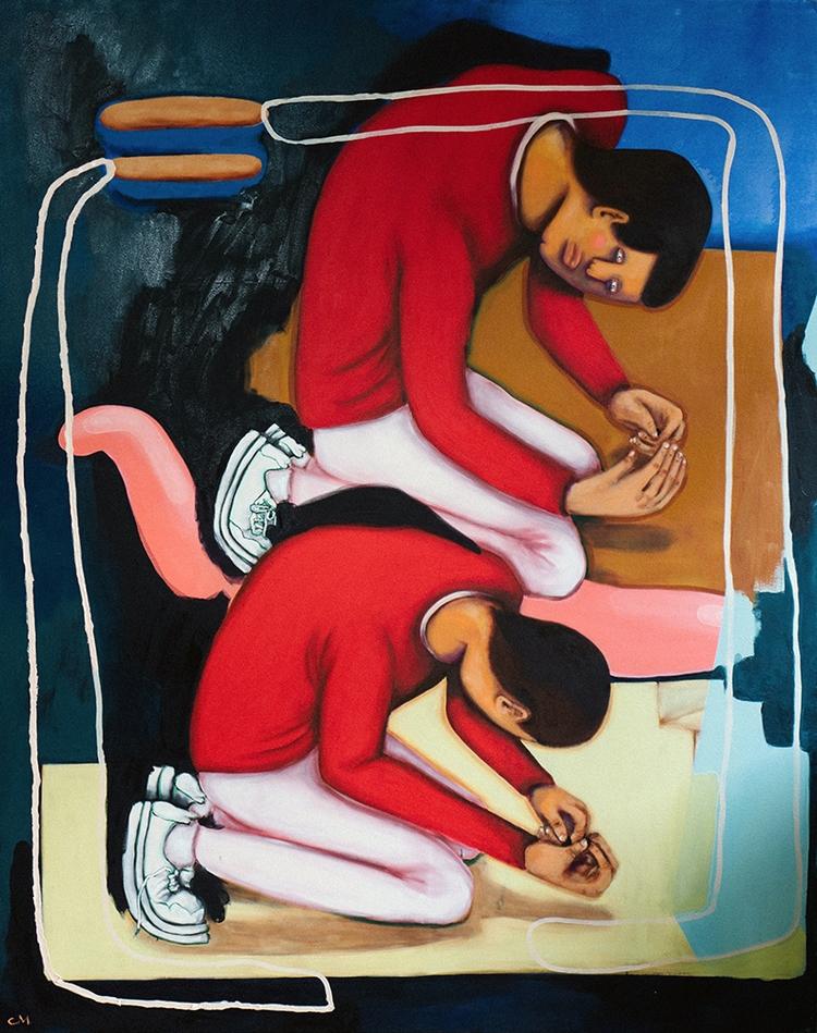 'Der Vergleich II', 170 220 - cm - cocomash | ello