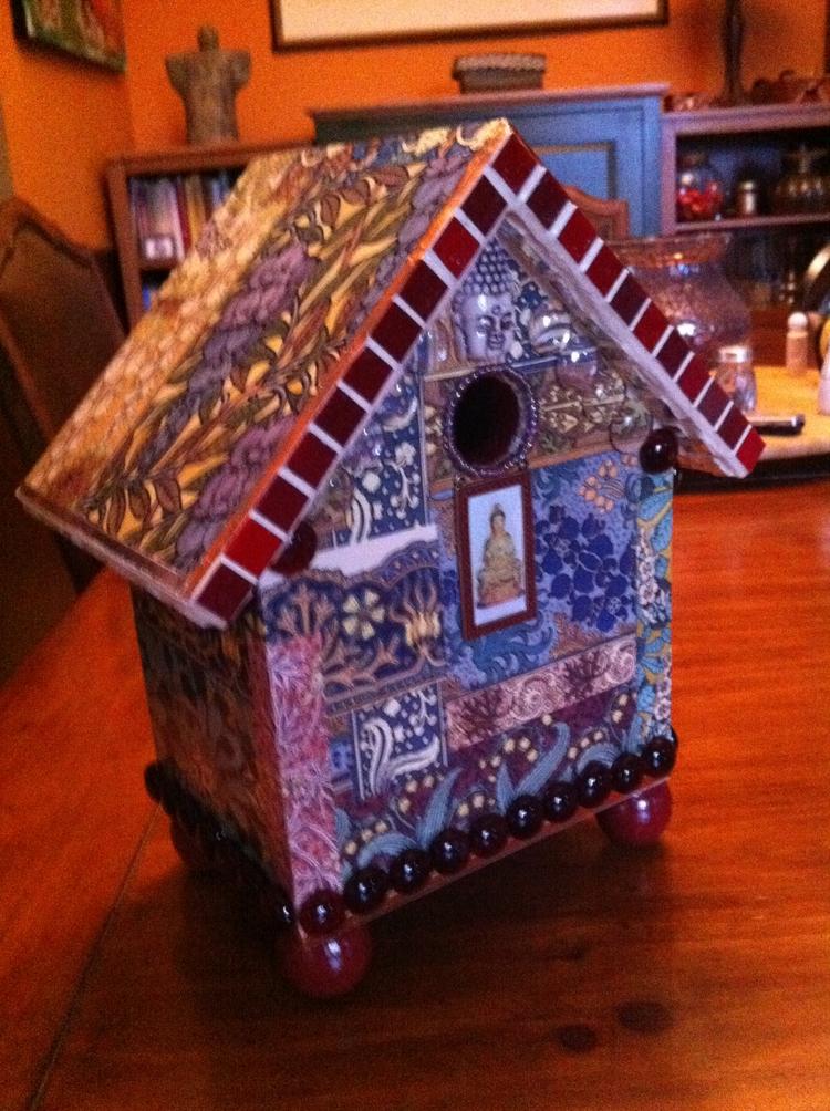 Buddha Birdhouse ready cool bir - nashvillejerry | ello